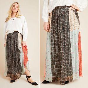 Verb Pallavi Singhee Margot Pleated Maxi Skirt